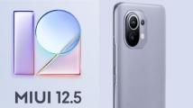 MIUI 12.5 açık beta 28 Xiaomi modeli için geldi