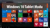 Windows 10 Tablet Modu Nasıl Açılır?