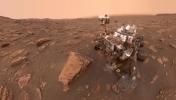 Toz fırtınası Mars'ı kaplıyor!