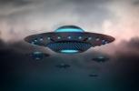 İstanbul semalarında UFO görüntülendi!