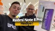 Redmi Note 8 Pro hediyeli mağaza açılışı!