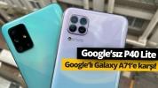 Galaxy A71 vs Huawei P40 Lite!