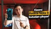 Xiaomi Redmi Note 9 kutusundan çıkıyor!