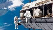 Astronotlar ISS'deki sızıntı için harekete geçti!