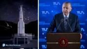 Erdoğan açıkladı: 100. yılda Ay'a yolculuk