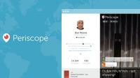 Periscope için Web Profilleri Geldi