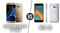 Galaxy S7 Edge – HTC 10 Karşılaştırma