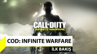 Call of Duty: Infinite Warfare ilk bakış