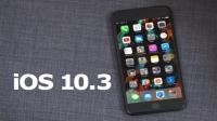 iOS 10.3 çıktı!