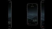 iOS 11 yüklü, çerçevesiz iPhone 8 konsepti