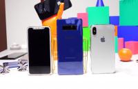 iPhone 8, Galaxy Note 8 ile görüntülendi!
