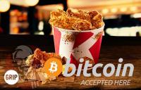 KFC Bitcoin ile ödeme almaya başladı