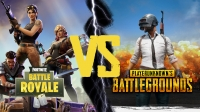 PUBG vs Fortnite Battle Royale