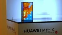 Katlanabilir telefon Huawei Mate X canlı görüntülendi!