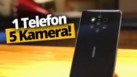 5 kameralı telefon Nokia 9 kutudan çıkıyor! (Video)