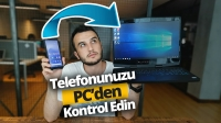 Windows 10 ile telefonu senkronize etmek!