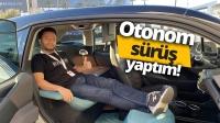 BMW i3 Urban Suite ile otonom sürüş yaptık!