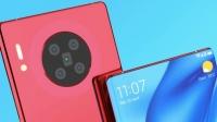 Huawei Mate 40 Pro için yapılan şık kamera konsepti