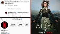 Netflix Türkiye, Instagram takipçisini kırmadı!