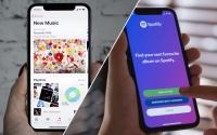 Apple Music hızla büyüyor! Spotify'ın ensesinde