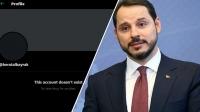 Berat Albayrak'ın Twitter hesabı kapatıldı mı?
