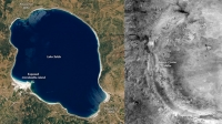 NASA, ikinci kez Salda Gölü'nü paylaştı