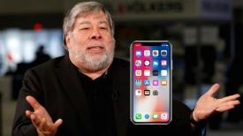 Wozniak, hemen iPhone X kullanmak istemiyor!