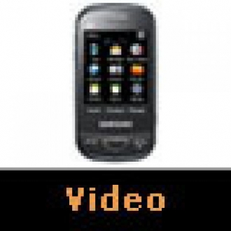 Samsung B3410W Chat Video İnceleme