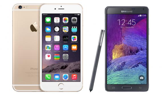 iPhone 6 Plus ile Galaxy Note 4'ü Karşılaştırdık