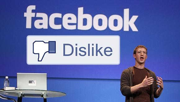 Facebook'a Dislike Mı Geliyor?