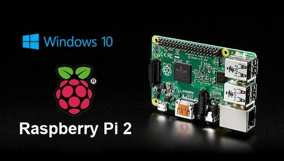 Windows 10, Raspberry Pi2'de