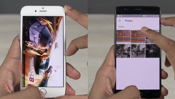 iPhone 6s ve OnePlus 3 Hız Testinde!