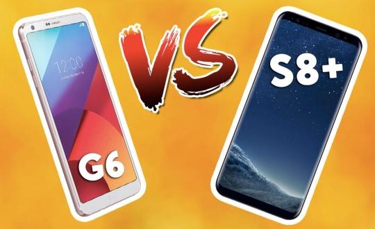 Galaxy S8+ vs LG G6 karşılaştırma!