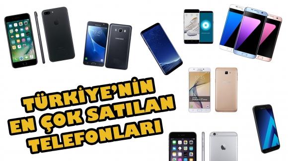 Türkiye'nin en çok satan telefonları!