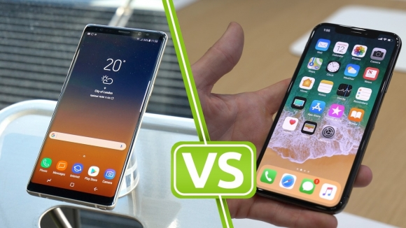 iPhone X ve Galaxy Note 9 hız testinde!