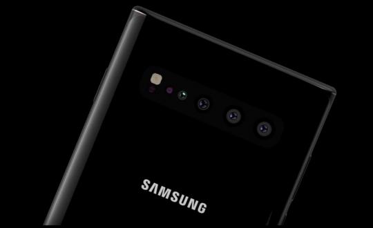 Galaxy Note 10, 5 kamera ile gelecek