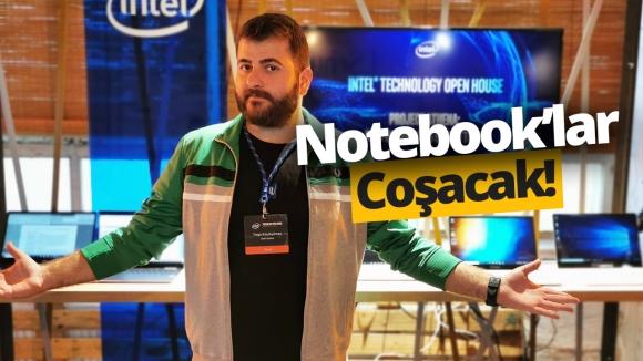 Intel Athena notebook'lara yeni soluk getirecek