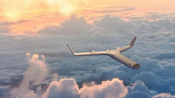 Tamamen elektrikli uçak tasarladı! İşte görüntüler