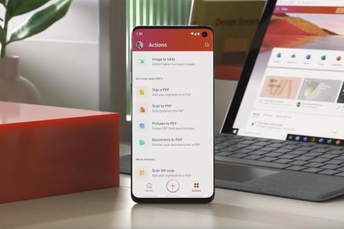 Microsoft Office uygulamaları Android için birleşti