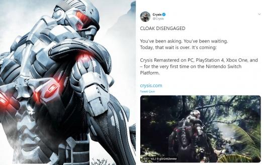 Crysis için beklenen haber geldi!