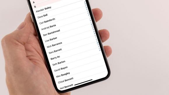 iPhone rehberindeki kişileri sıralama işlemi nasıl yapılır?