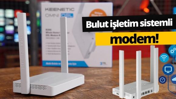 Modüler işletim sistemli Keenetic modem inceleme!