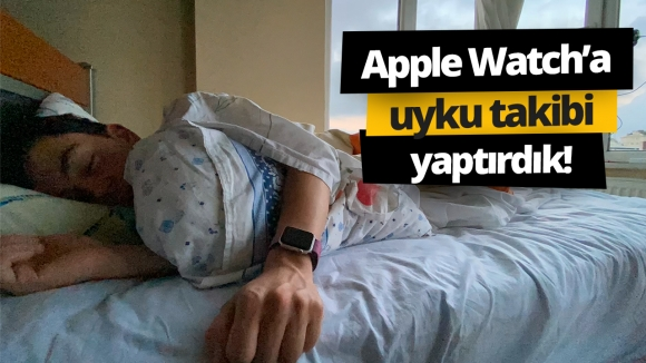 Apple Watch'a uyku modu getirdik! #vLog