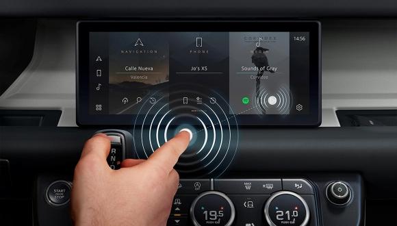 Jaguar Land Rover temassız ekran geliştiriyor