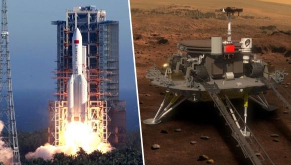 Mars'a yeni yolculuk: Tianwen-1 fırlatıldı!