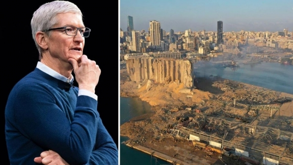 Beyrut'ta yaşanan patlama sonrası Apple'dan yardım
