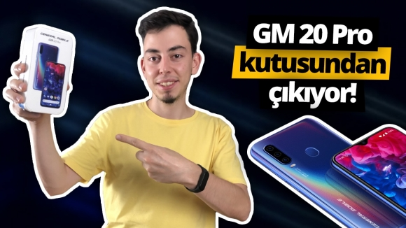 General Mobile GM 20 Pro kutusundan çıkıyor