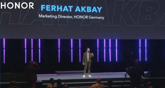 Honor IFA 2020 sahnesinde bir Türk: Ferhat Akbay