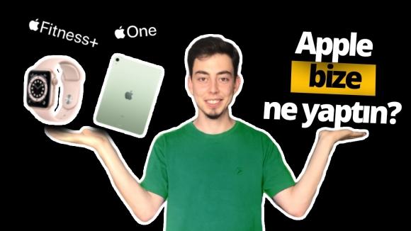 Sadece 8 dakikada Apple etkinliği özeti!