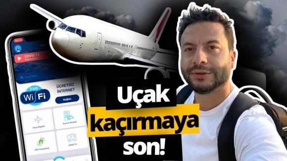 Havalimanında uçak kaçırmayı engelleyen uygulama!